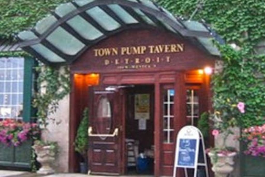 GROUND FLOOR: The Town Pump Tavern is only an elevator ride away for any pre/post-party cocktail and dinner options. We're very excited to host your group and would love to give suggestions to help make your stay extremely memorable. Our goal is to host you every time you visit for a game, concert, casino visit, business trip, or just to have fun.