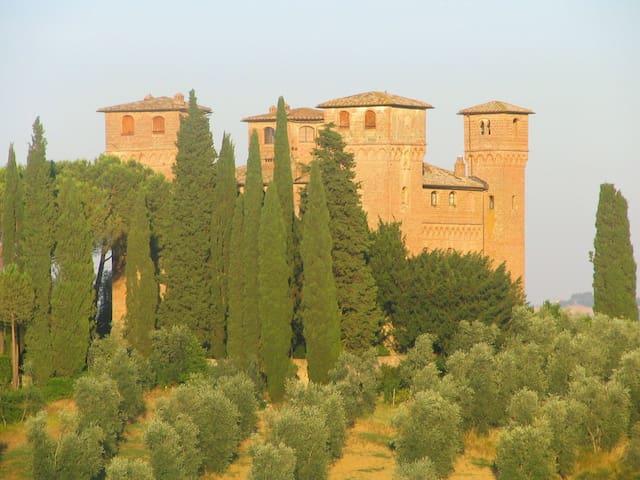 The beautiful Castello delle Quattro Torra