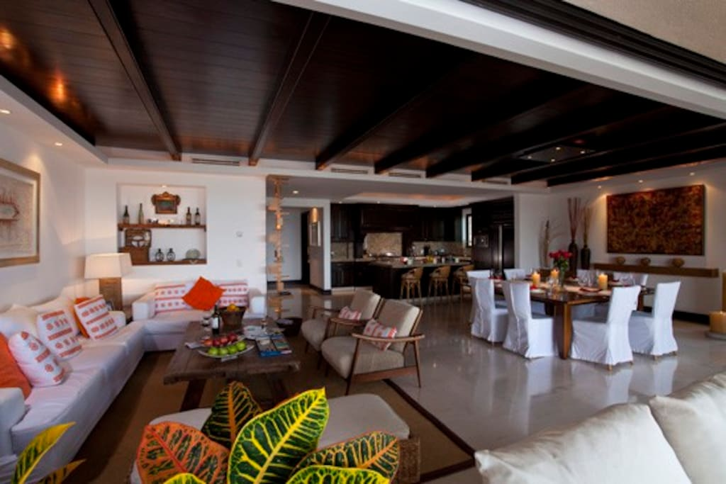Interior living-dining