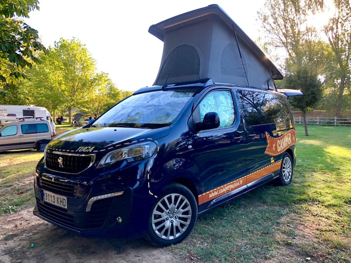 Tuca: Peugeot Traveller Active by Tinkervan