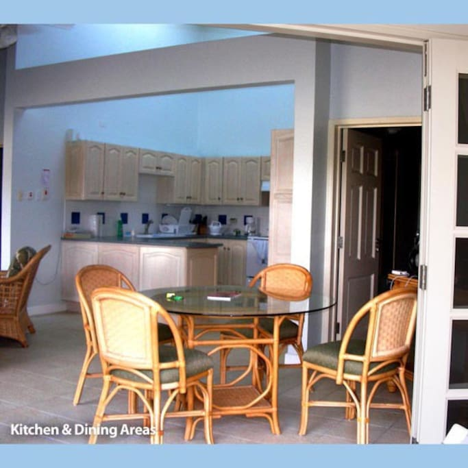 Kitchen with Skylight, dining area