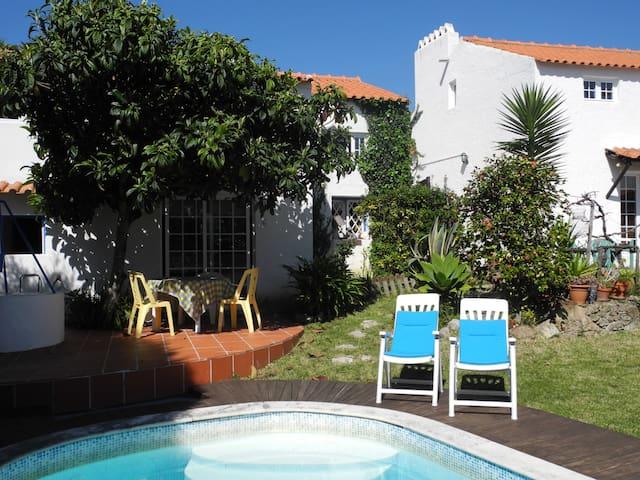 Casa com piscina (campo e mar) - Foz do Arelho - Casa