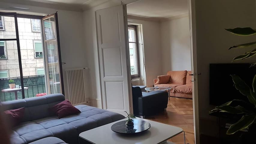 Suite in Cozy apartment, central nearby the lake!
