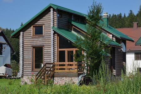 wooden log cabin near the creek... - Smrečje - Cabaña