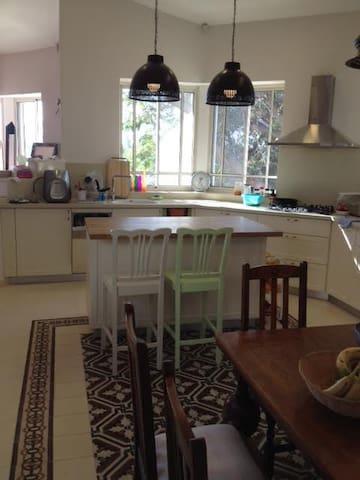 The beautiful kitchen