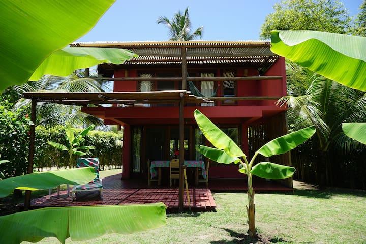 Casa em Praia Incrível em Guaiú - Santa Cruz Cabrália - Rumah
