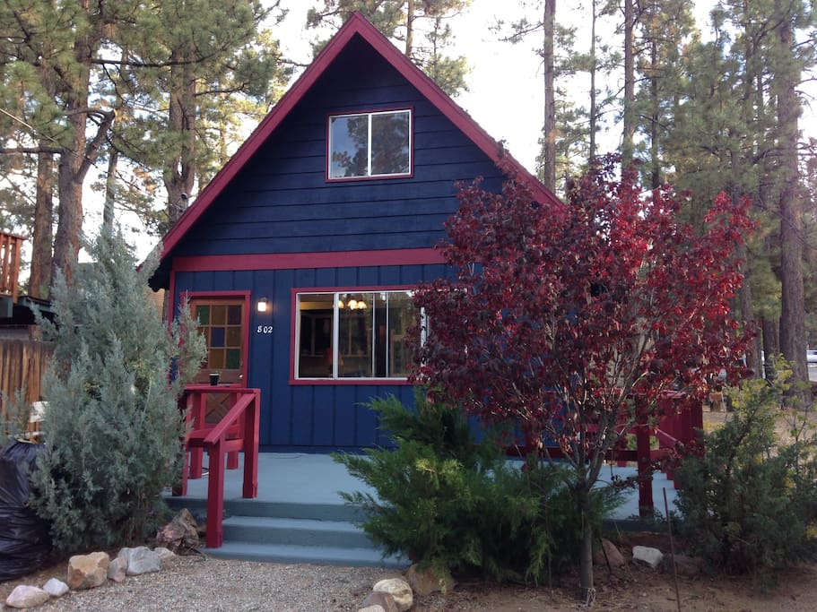 The Blue Front Cabin Cabins For Rent In Big Bear