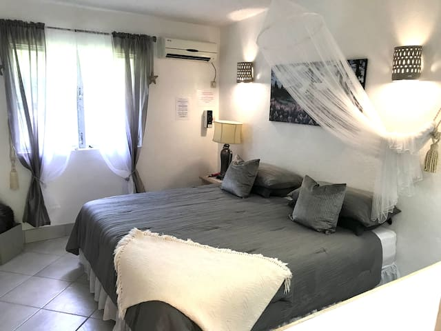 Bedroom with Super-king Bed