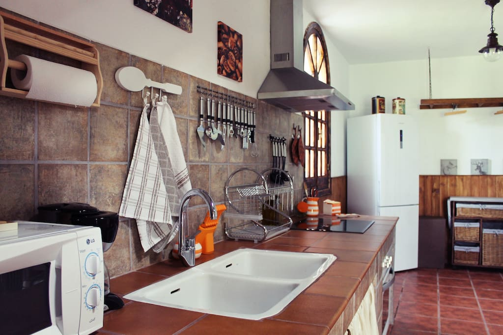 Cocina/ lavadero totalmente equipado