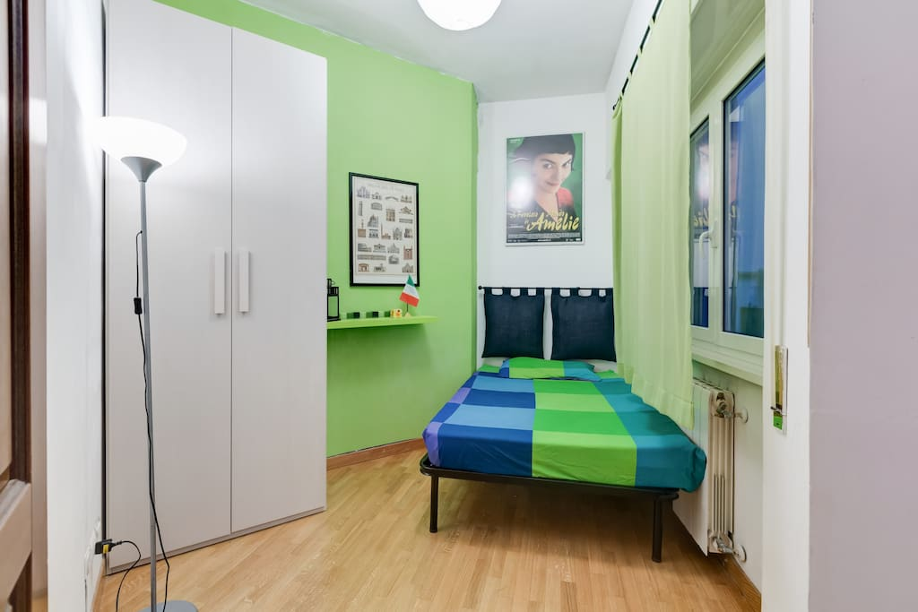 Vatican Green Room With Private Bathroom Apartments For Rent In Rome Lazio Italy