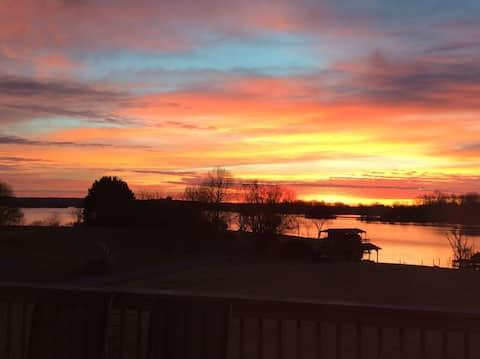 Waterfront Sunrise View