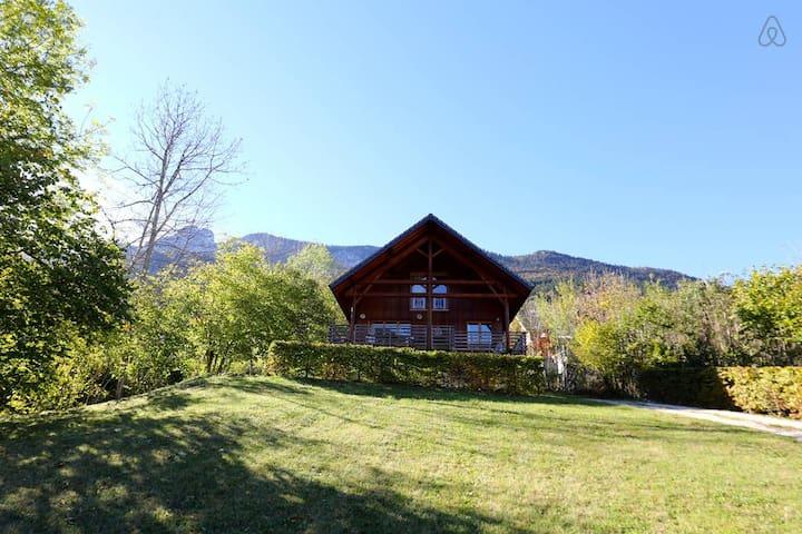 Chalet-Alpes-Nature-Ski-Randonnees - Saint-Pierre-d'Entremont - Dağ Evi