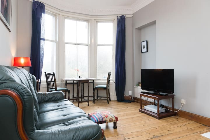 Trendy Cosy 1BD W. End Glasgow Flat