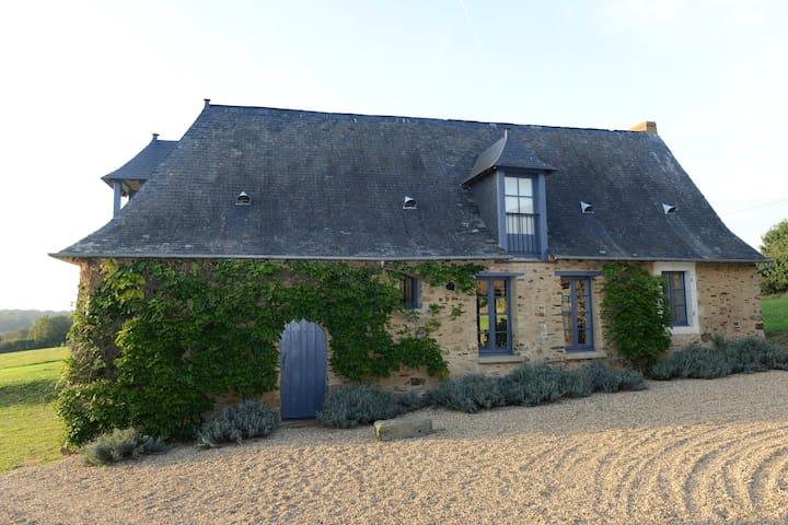 la Ferme de La Petite Houssaie - Marigne  - House