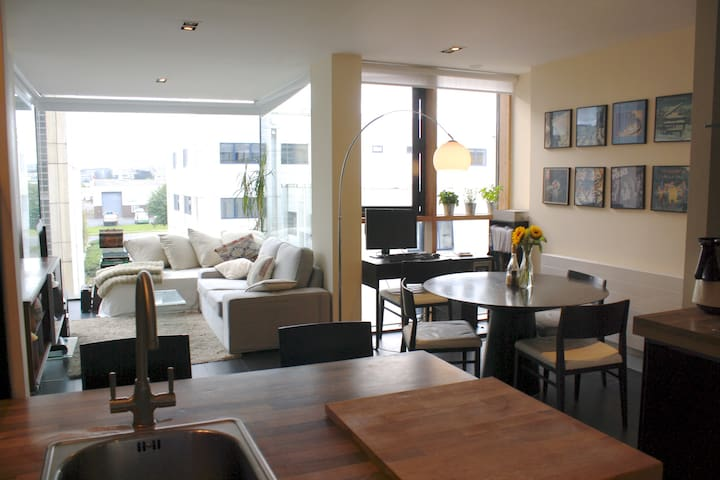 Double Room w/Private Bathroom in Luxury Apartment - Sandyford - Apartemen