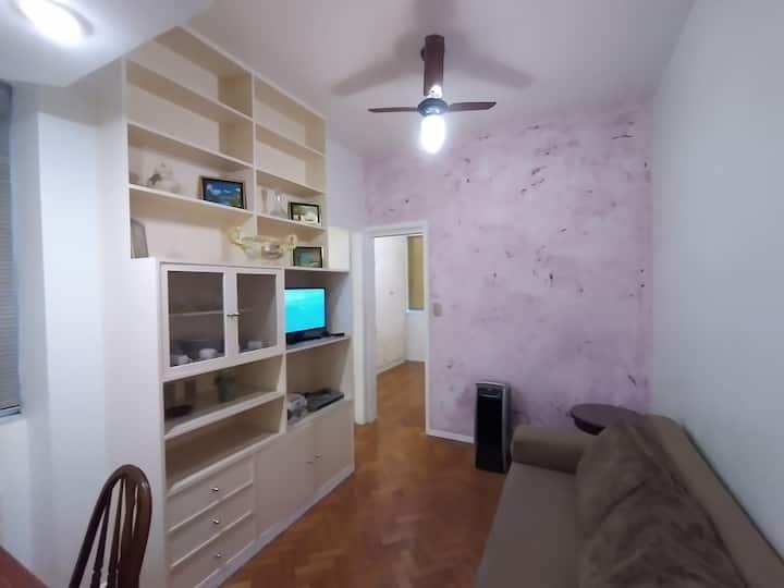 Agradável apartamento em Ipanema