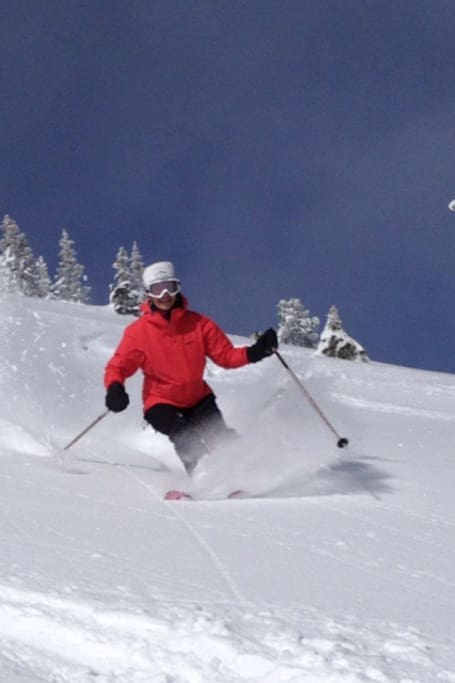 Vail powder skiing