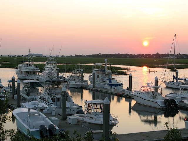 Waterfront/Marina in Charleston/MTP - Mt Pleasant - House