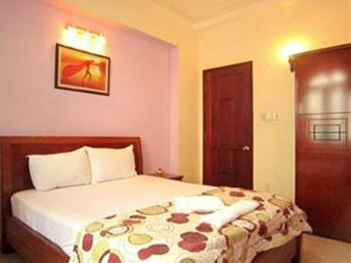 Clean Double Room at Song Hoa Hotel