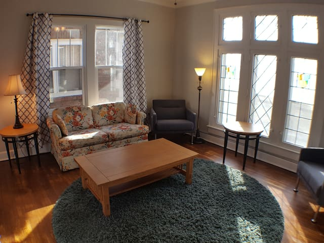 Beautifully Updated Garfield Park Apt, With View - Indianápolis - Apartamento