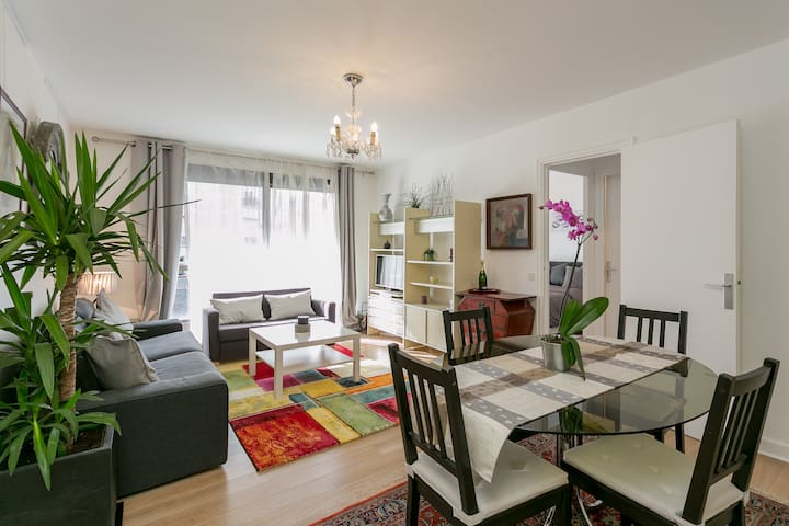 Quiet Precious 1-bedroom with great terrace - Paris - Apartment