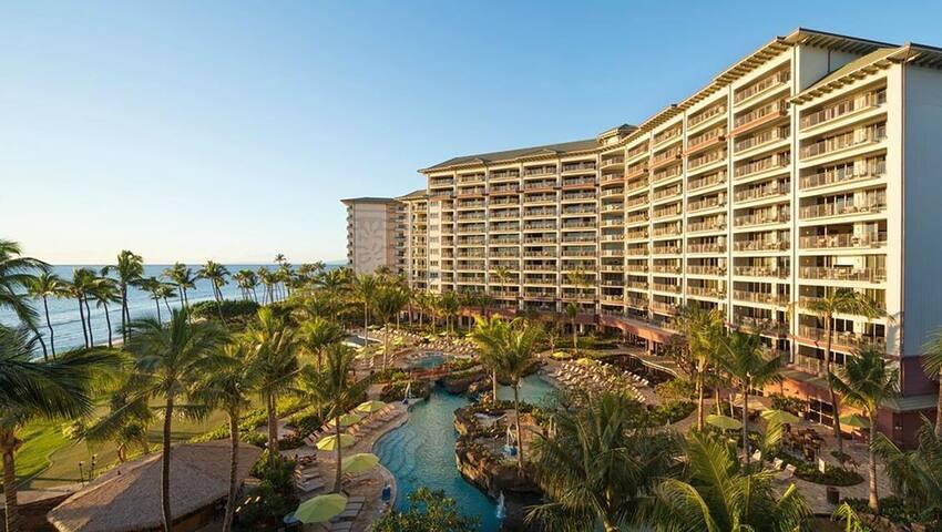 Kaanapali Luxury Ocean Front Condo Hyatt Res. Club