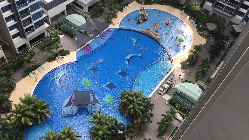 Atlantis Melaka room 1379sqft
