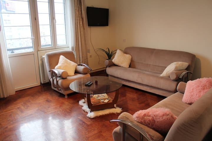 ♛ 1BR Flat in Heart Of Belgrade W/ Center View ♚