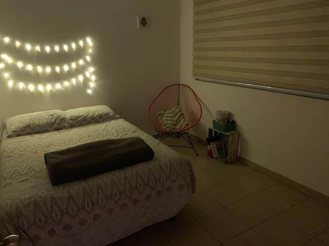 Acogedor cuarto privado en Colonia Roma Sur