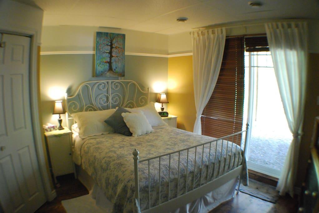 Chambre rêve avec vue sur le lac St-Charles
