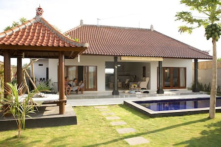Cosy,quiet,private 2BD Canggu villa