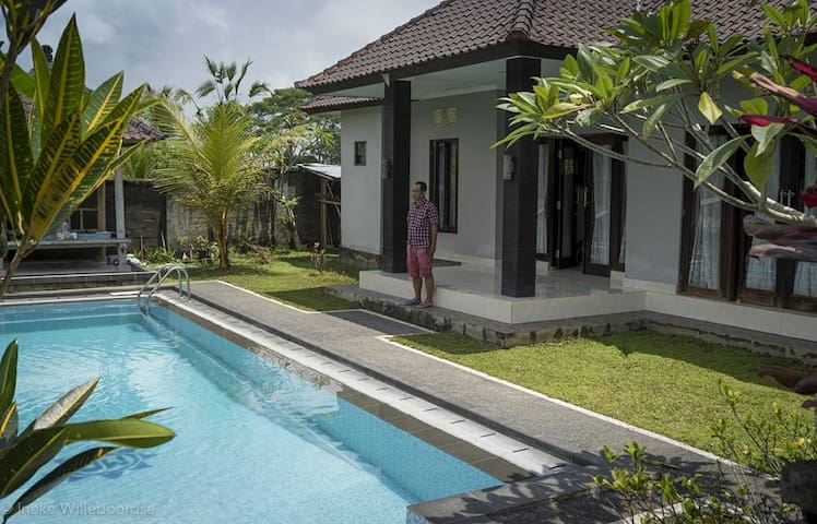 Family home in beautiful ricefields