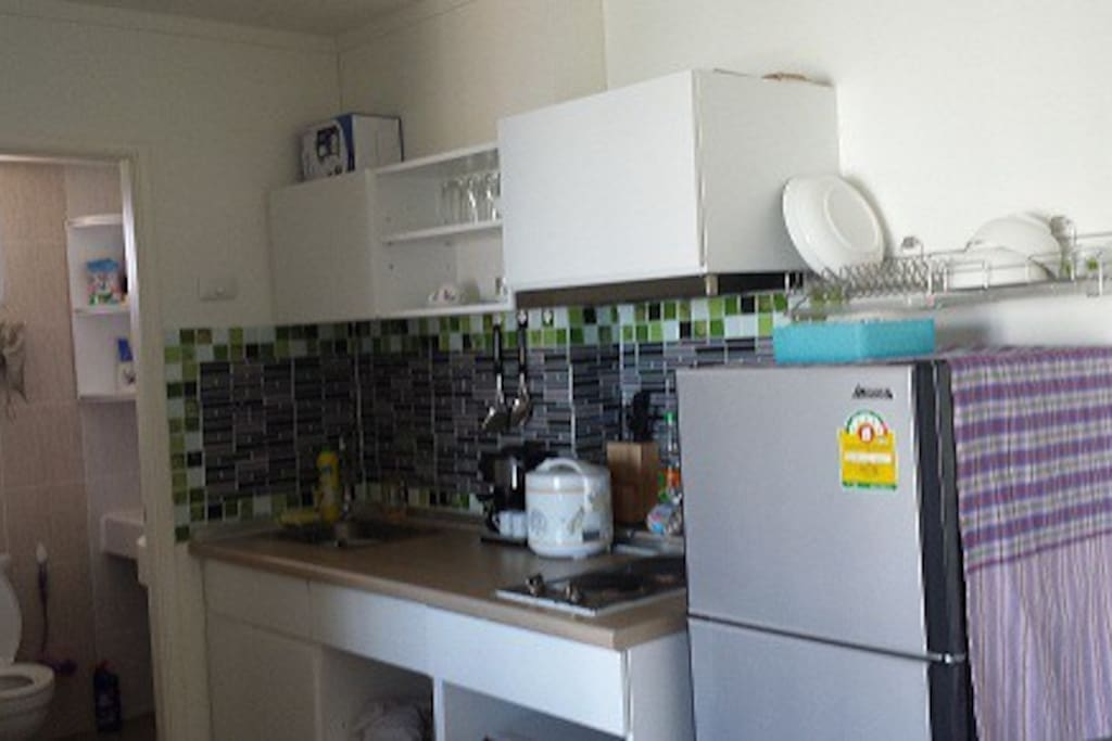Kitchen with full material,