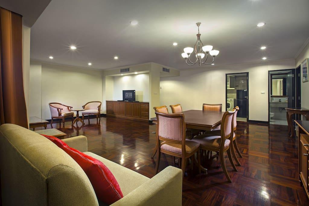 Two Bedroom Suite-Living Room