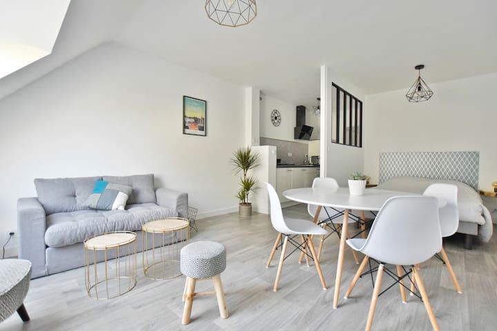Appartement de charme 32m² au coeur de Vannes