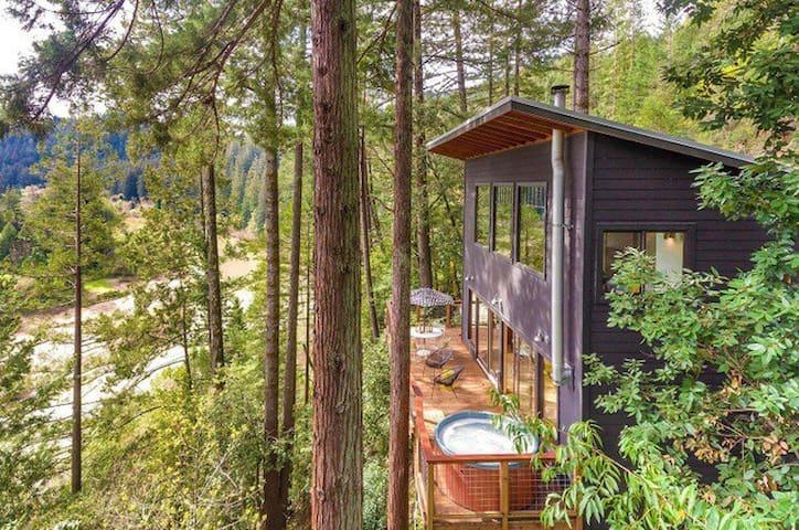 Stunning views, modern masterpiece! - Guerneville - Haus