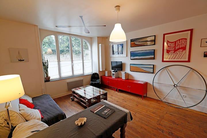 Appartement de charme à Solidor - St-Malo - Departamento