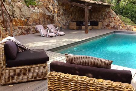 Hillside Villa with Stunning View