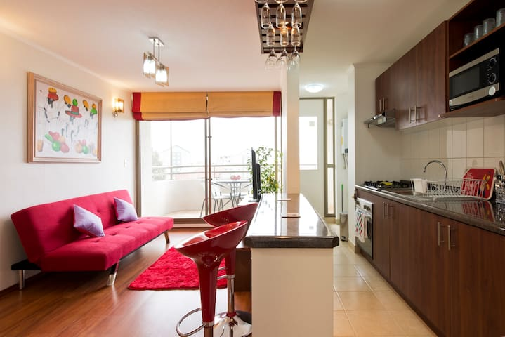 Beautiful and Charming appartment - Viña del Mar - Apartment