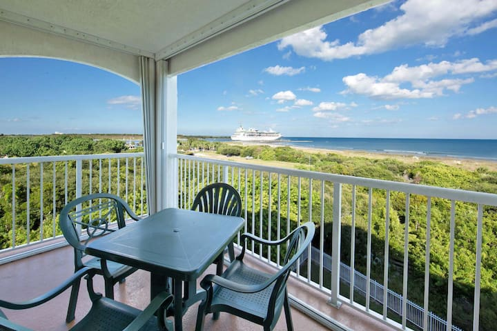 NEW LISTING! 2BR Ocean Front with Free Water Park at Cape Canaveral Beach Resort