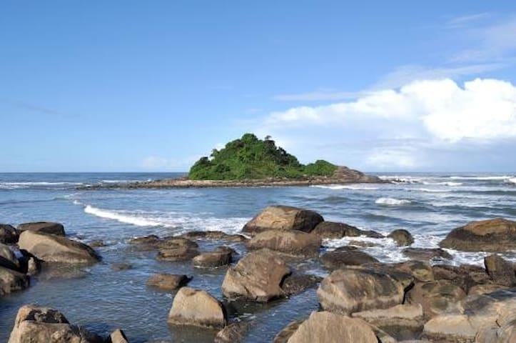 Apartamento em Itanhaém perto da praia (Cibratel)!