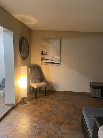 Dog friendly house with private bedroom