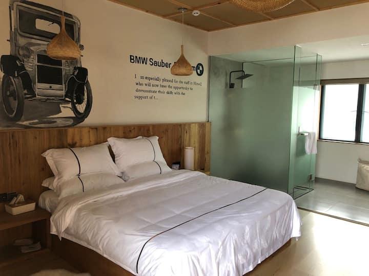 栖坡竹语-大床房1