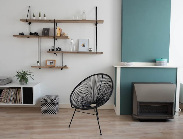Light studio/apartment near sea & city - Den Haag - Byt