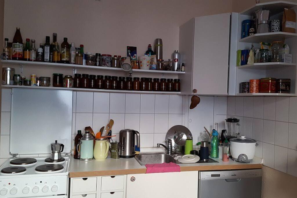 Kochzeile - kitchen range