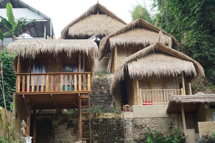 Bali Bamboo Jungle Huts