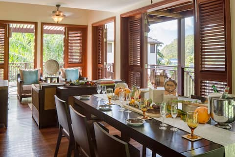 Marigot Bay Resort - Breakfast Plan Three Bedroom Penthouse Residence