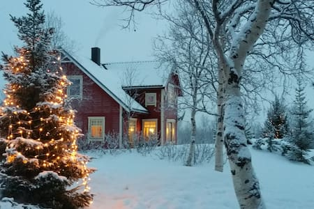 Mountain Villa with Ocean View - Kirkenes