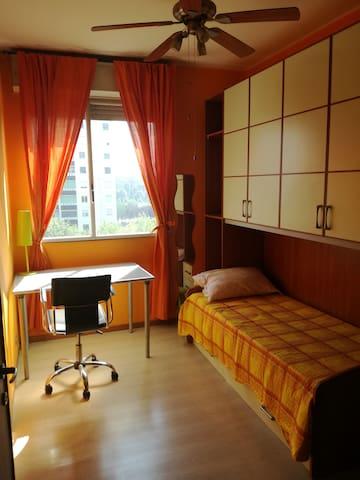 Rent single room  -  underground at 100 meters
