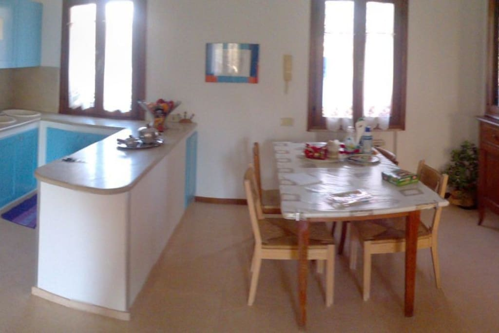 panoramica cucina